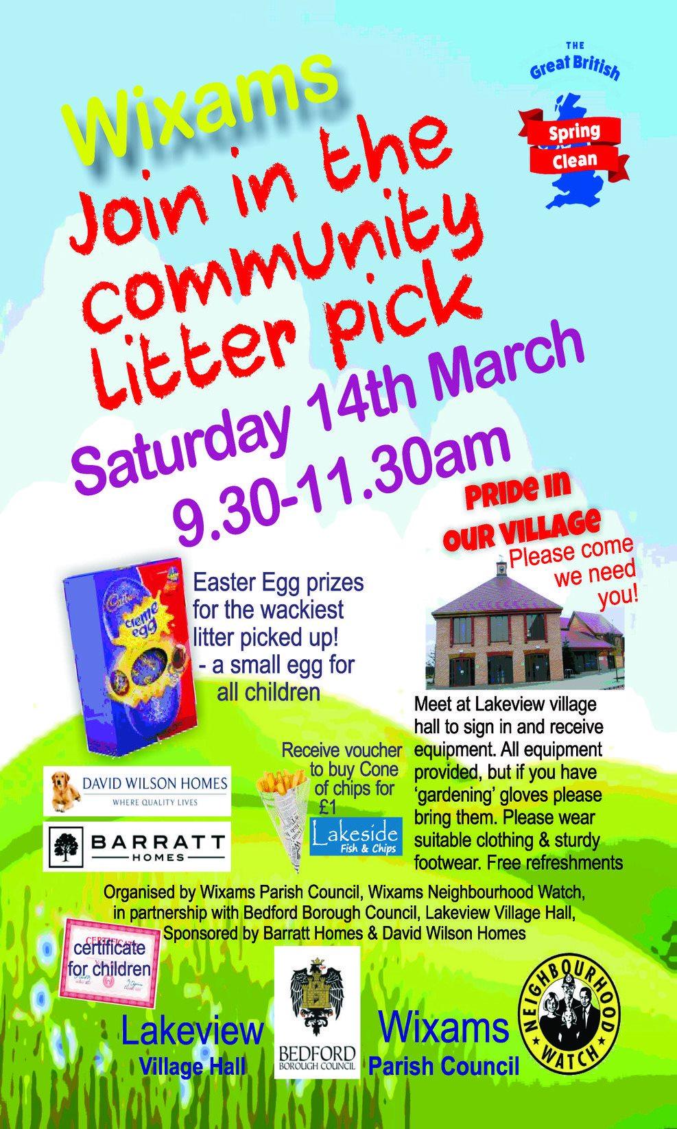 Community Litter Pick Leaflet