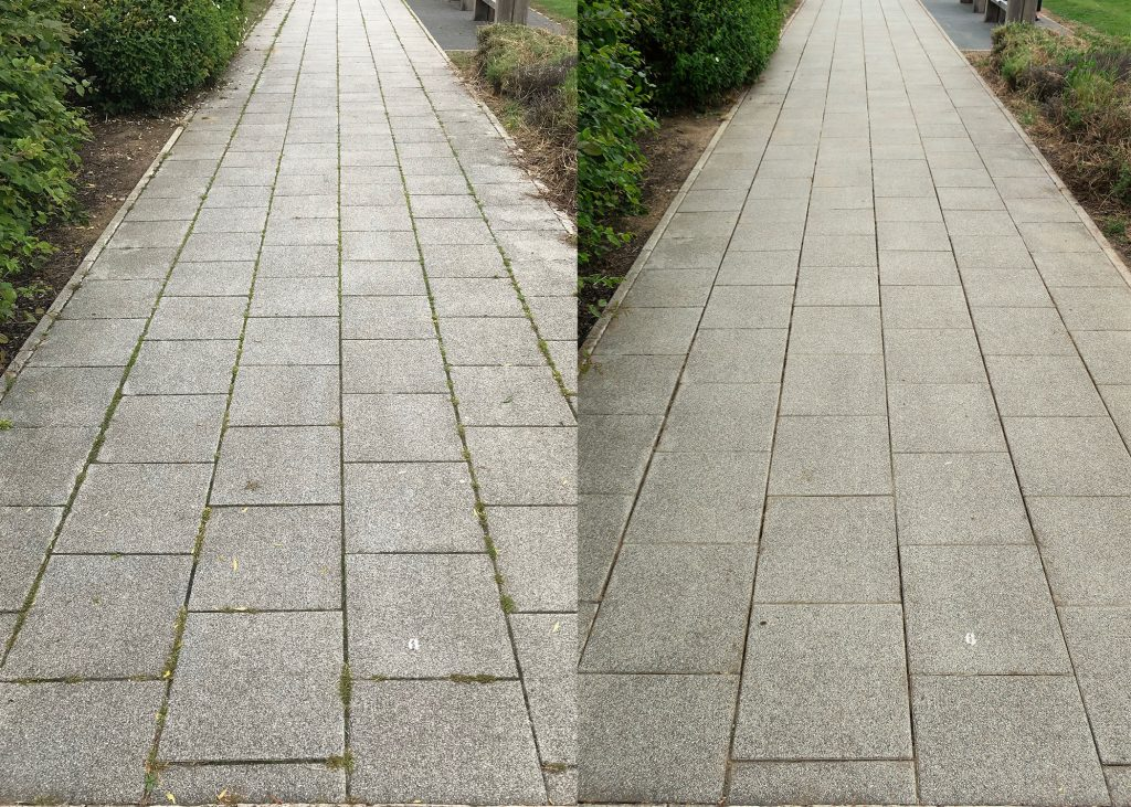 Brooklands to Walkway - Before and After 1