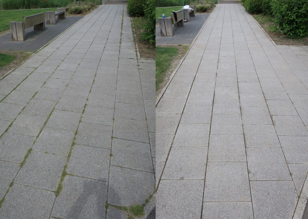 Brooklands to Walkway - Before and After 2