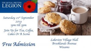 RBL Afternoon Tea Flyer