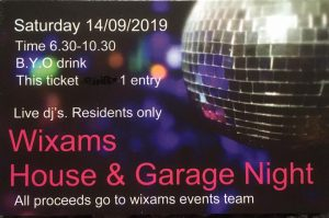 House and Garage Night Flyer