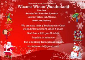 20191130 - Wixams Winter Wonderland Flyer
