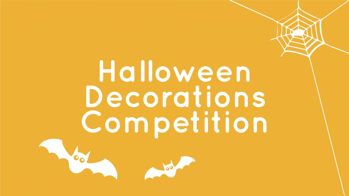 Halloween Competition Diary Flyer