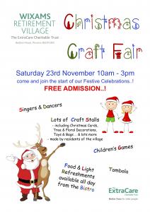 WRV Christmas Craft Fair Flier