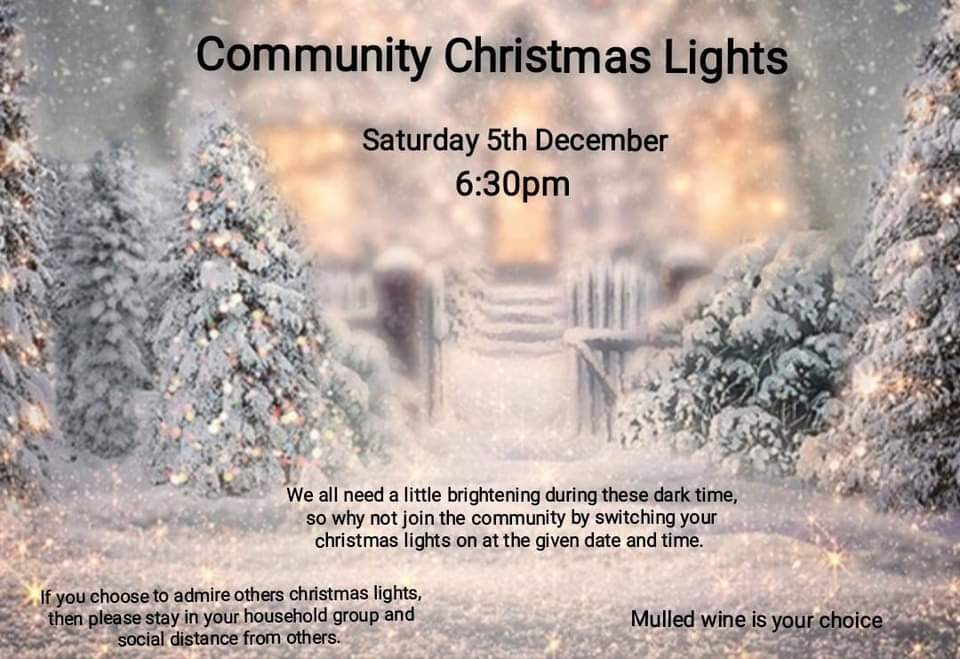 Community Christmas Lights Switch On