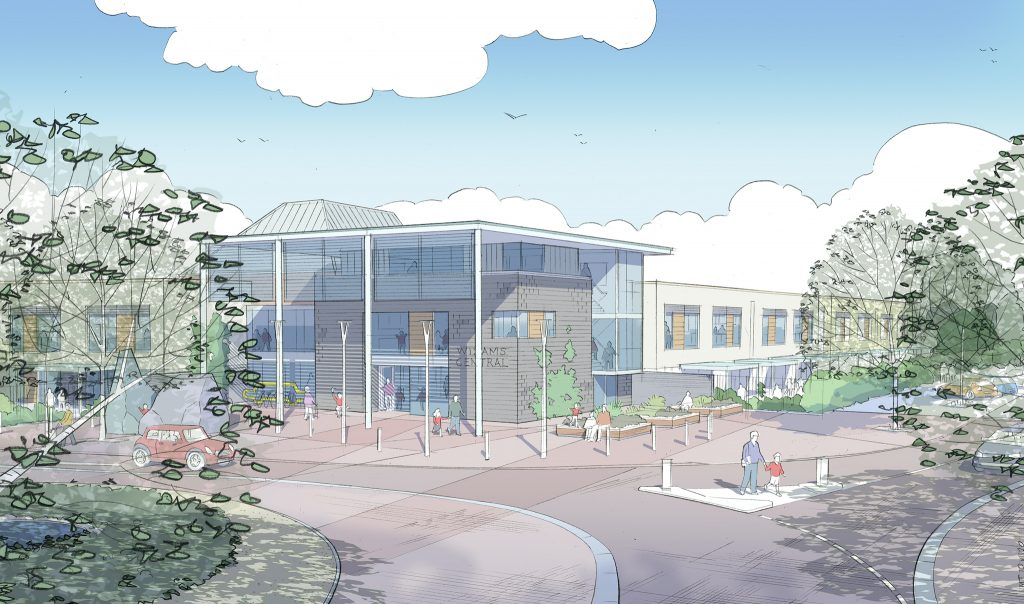 Town Centre Primary School - Artists Impression
