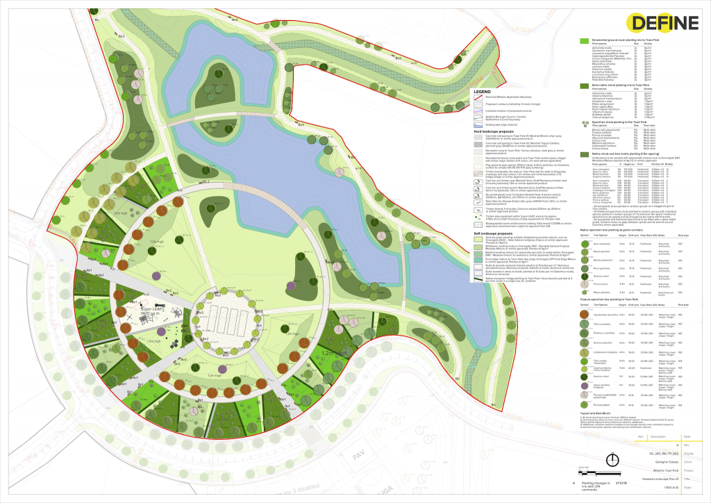 Wixams Town Park Design